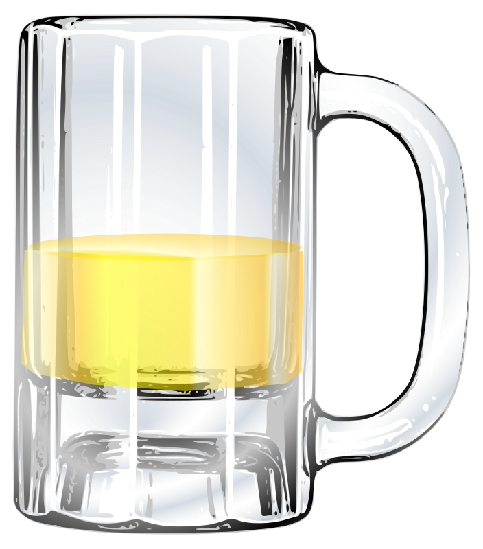 mug of beer by tomas_arad - re-uploaded clipart, the first one missing somehow in site reconstruction, but is in archieve.