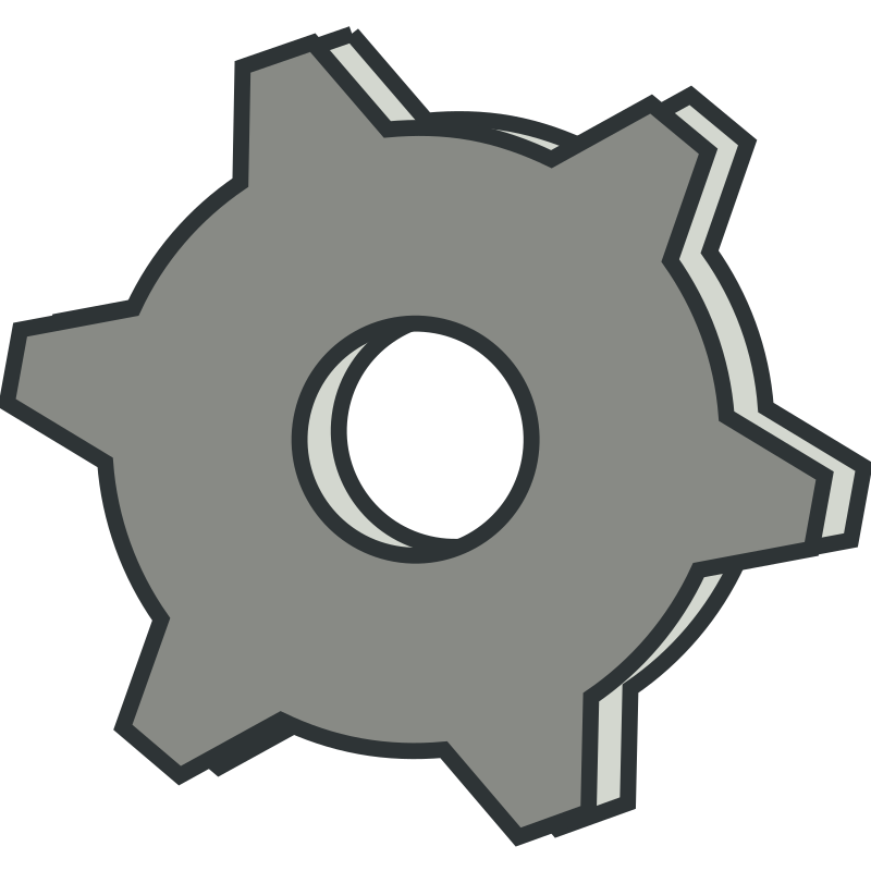 Gear by nefigcas - A simple gear icon