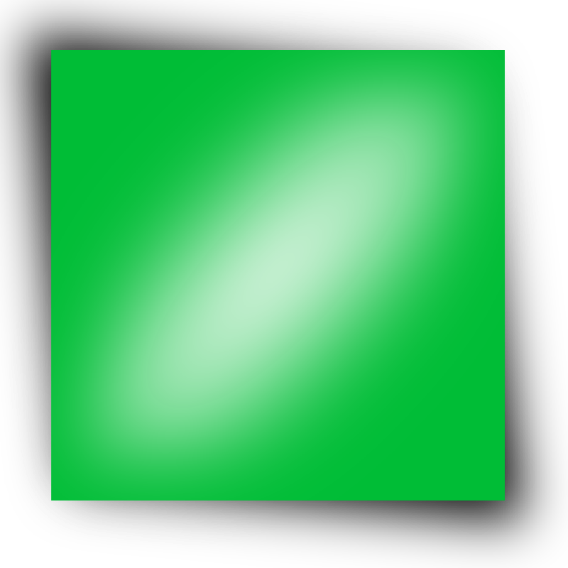 green rectangle by nlyl - A green rectangle.
