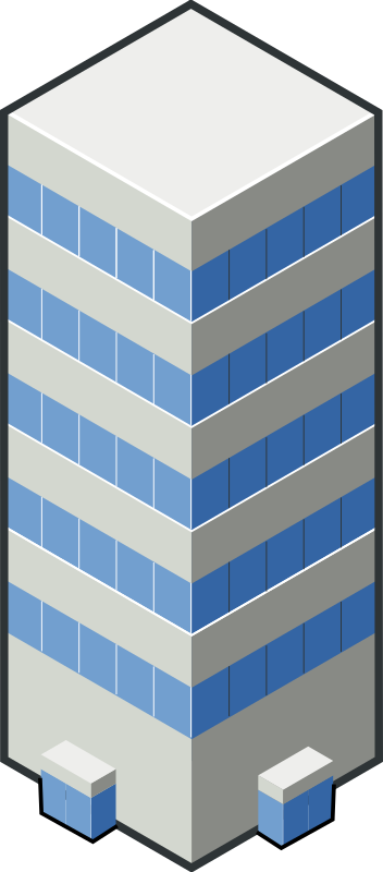 isocity blue tower by rg1024 - Second building of isocity