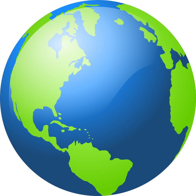 Earth by barretr - An Earth icon.