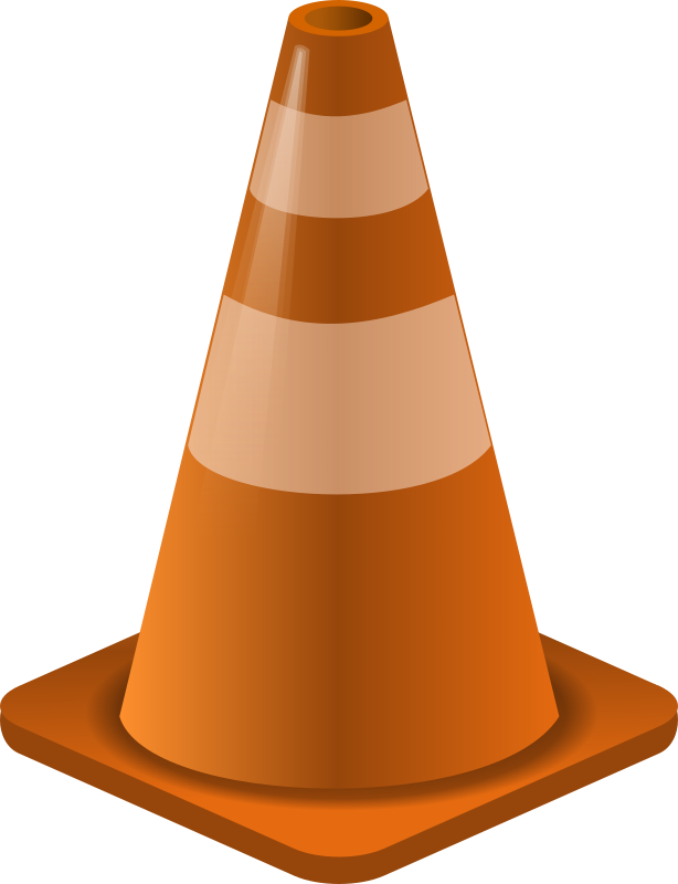 Construction Cone by midkiffaries