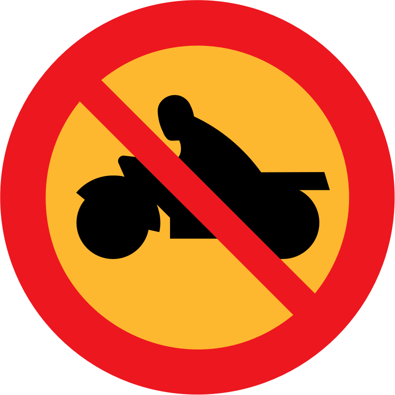 no motorbikes by ryanlerch