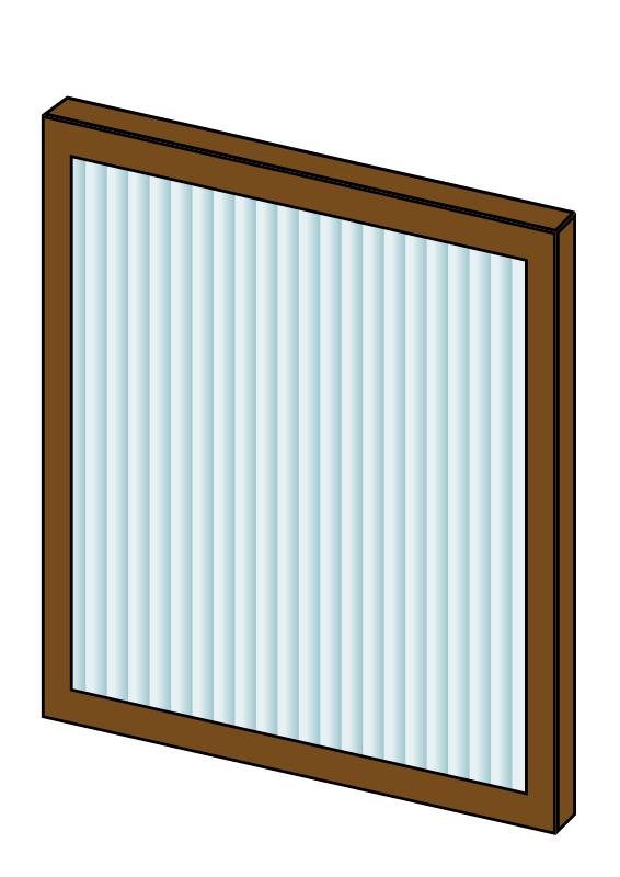 Furnace Filter by bnielsen - A pleated furnace filter.