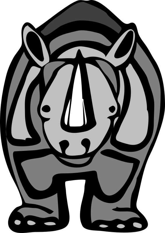 Architetto -- rhinoceros 2 by francesco_rollandin - Drawing by Francesco 'Architetto' Rollandin. From OCAL 0.18 release.