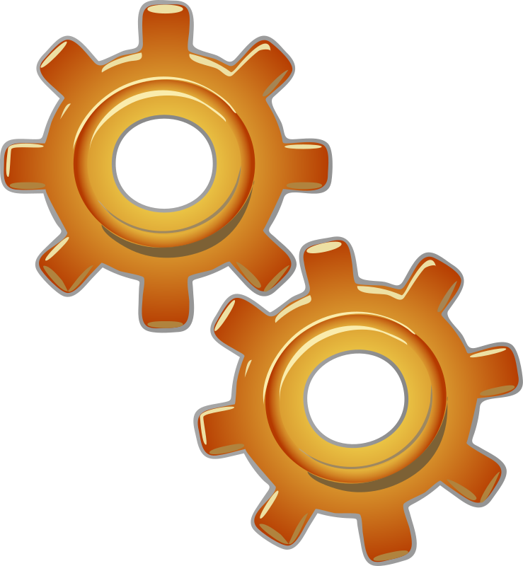 Иконка шестиренки