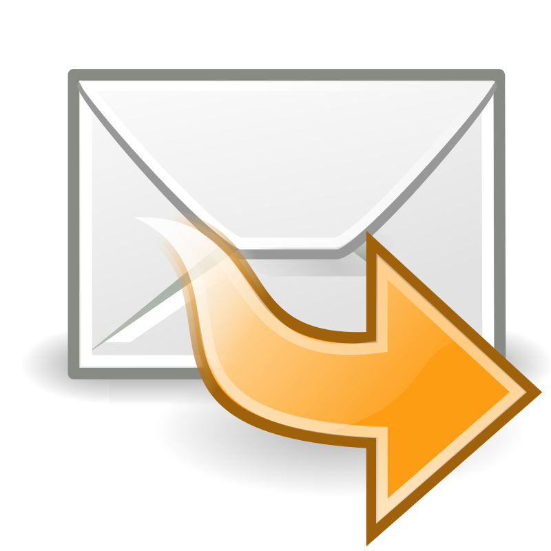 "tango mail forward by warszawianka - ""Mail forward"" icon from <a href=""http://tango.freedesktop.org/Tango_Desktop_Project""> Tango Project </a> 