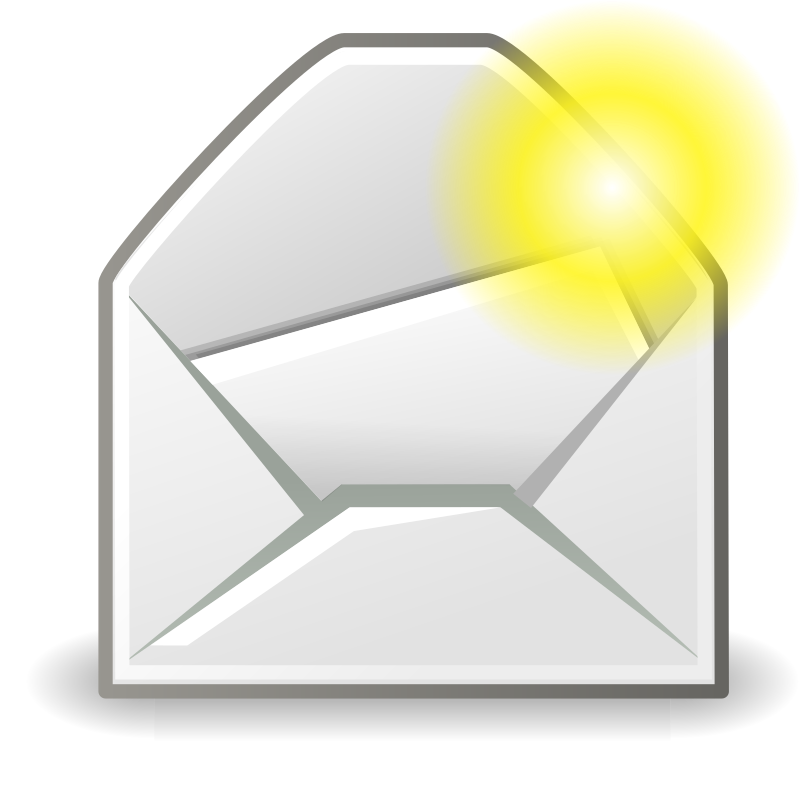"tango mail message new by warszawianka - ""New maessage"" icon from <a href=""http://tango.freedesktop.org/Tango_Desktop_Project""> Tango Project </a> 