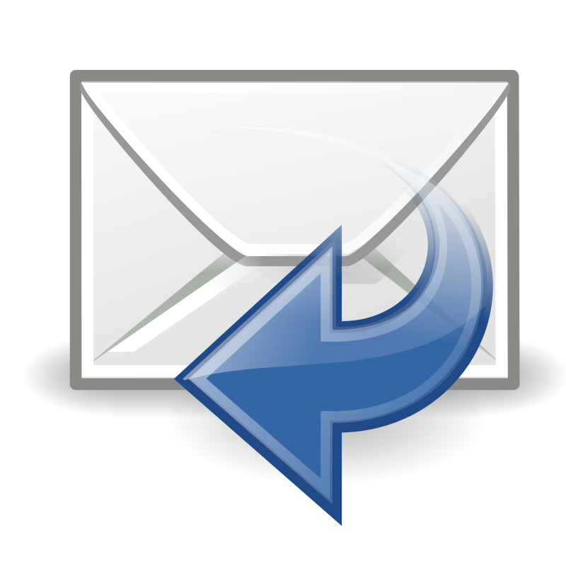 "tango mail reply sender by warszawianka - ""Reply sender"" icon from <a href=""http://tango.freedesktop.org/Tango_Desktop_Project""> Tango Project </a> 