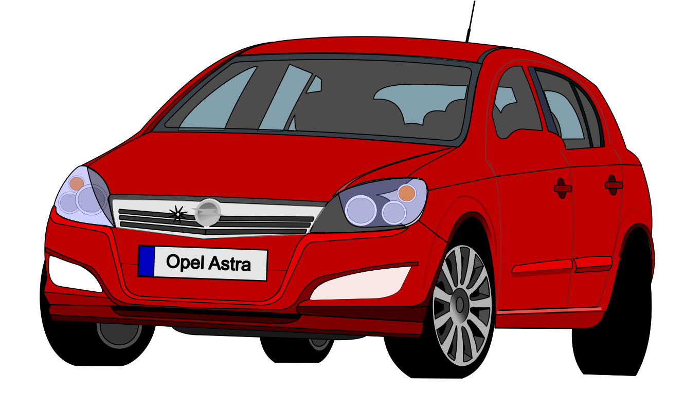 Opel Astra by wollebolleke - Opel Astra on the road