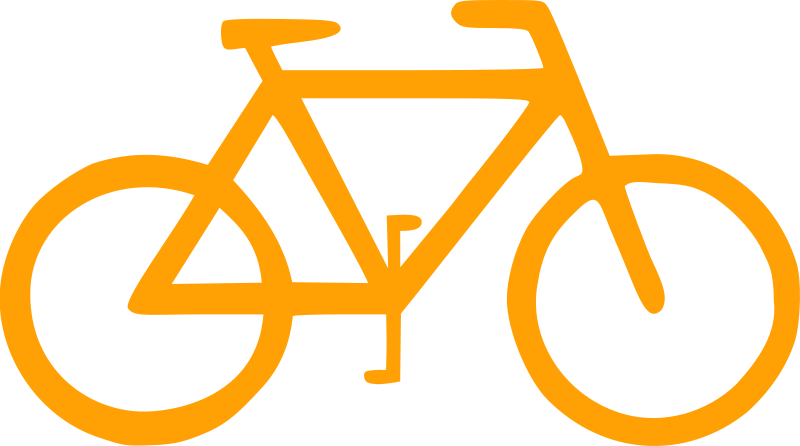 Bicycle Sign Symbol by lunanaut
