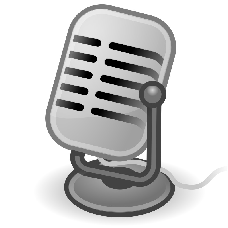"tango input microphone by warszawianka - ""Microphone"" icon from <a href=""http://tango.freedesktop.org/Tango_Desktop_Project""> Tango Project </a> 