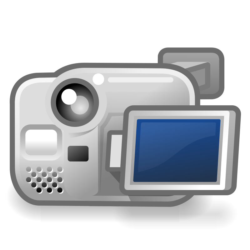 Clipart Tango Camera Video