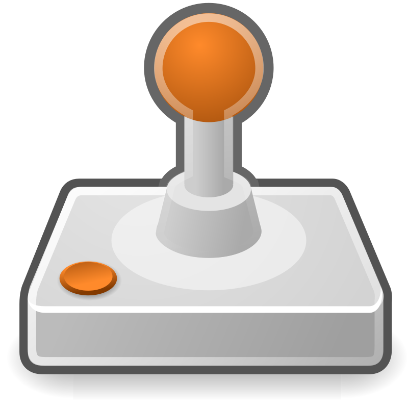 "tango input gaming by warszawianka - ""Joystick"" icon from <a href=""http://tango.freedesktop.org/Tango_Desktop_Project""> Tango Project </a> 