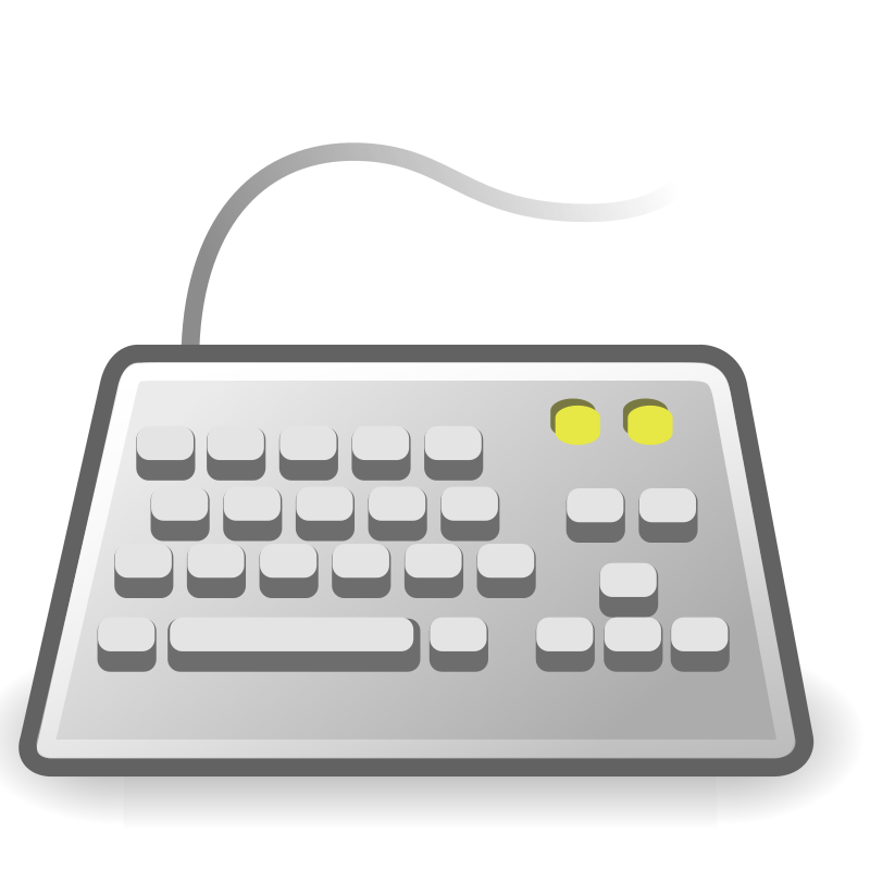 "tango input keyboard by warszawianka - ""Keyboard"" icon from <a href=""http://tango.freedesktop.org/Tango_Desktop_Project""> Tango Project </a> 