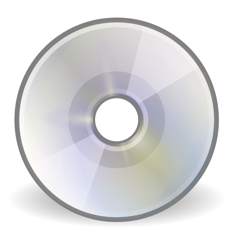 "tango media optical by warszawianka - ""CD/DVD"" icon from <a href=""http://tango.freedesktop.org/Tango_Desktop_Project""> Tango Project </a> 