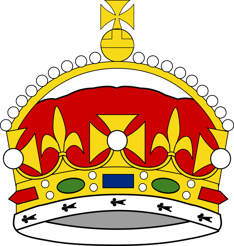 Crown of George Prince of Wales by liftarn