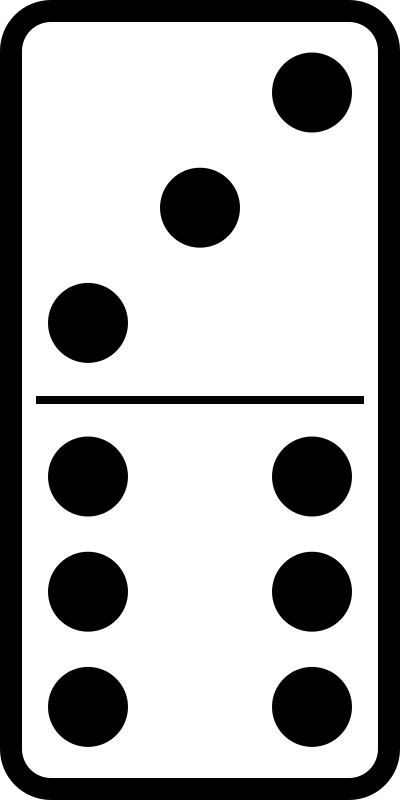 domino set 21 by molumen