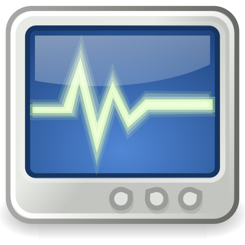 "tango utilities system monitor by warszawianka - ""System monitor"" icon from <a href=""http://tango.freedesktop.org/Tango_Desktop_Project""> Tango Project </a> 