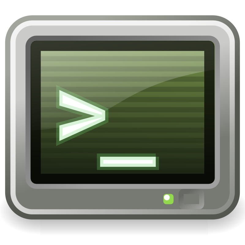 "tango utilities terminal by warszawianka - ""Terminal"" icon from <a href=""http://tango.freedesktop.org/Tango_Desktop_Project""> Tango Project </a> 