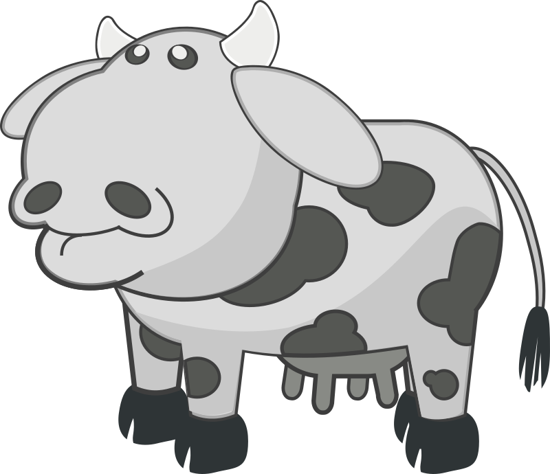 Gray Cow by mairin - Gray cow.