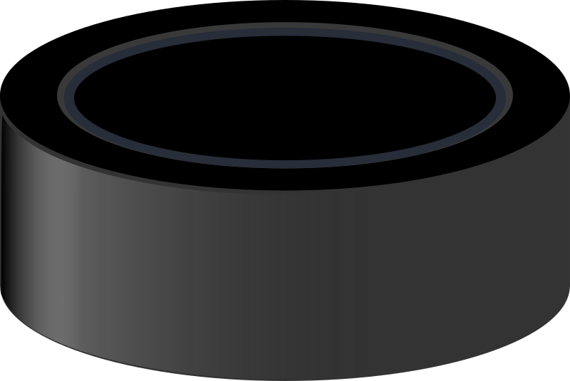 Hockey Puck by J_Alves - A hockey puck, drawn in Inkscape.