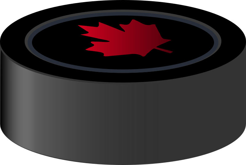 Hockey Puck Canada by J_Alves