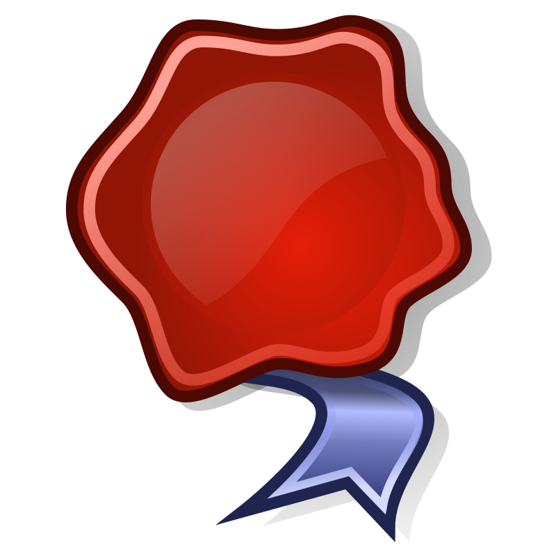 tango application certificate by warszawianka - An icon from Tango Project. Since version 0.8.90 Tango Project icons are Public Domain: