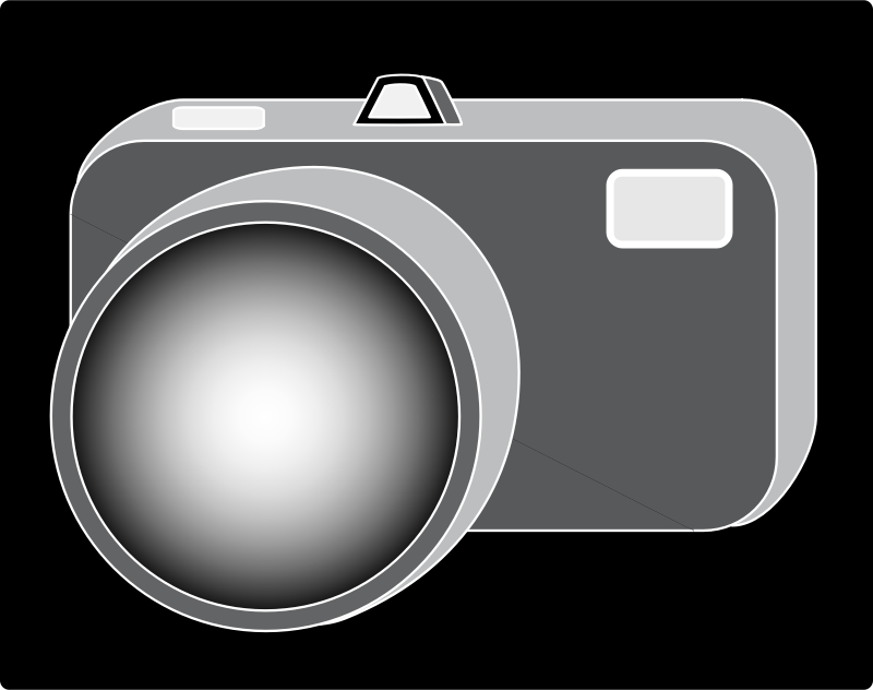 B W Camera by bichant - a b/w camera icon