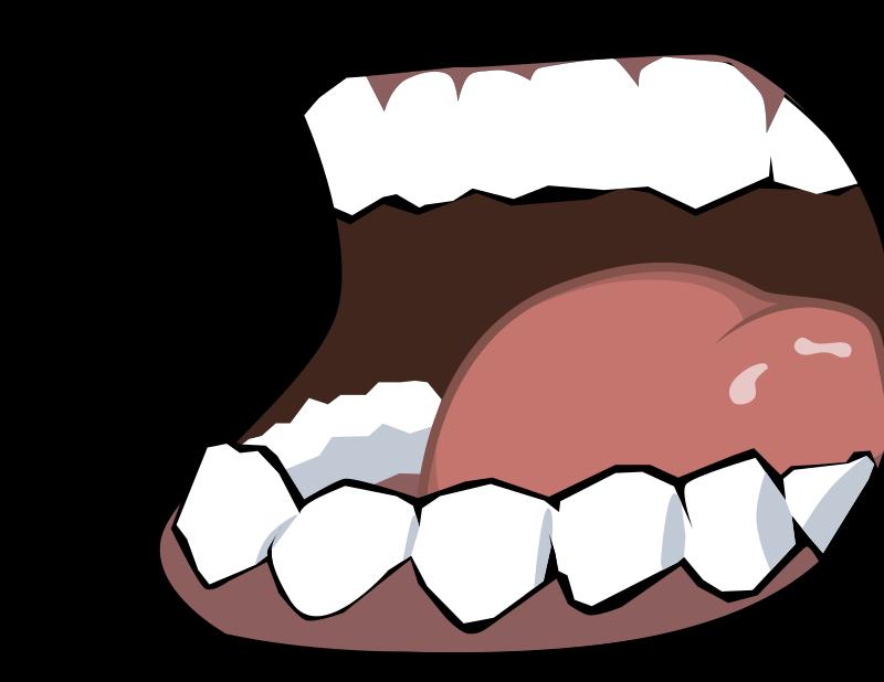 Dark mouth by merzok - Dark mouth with teeth.