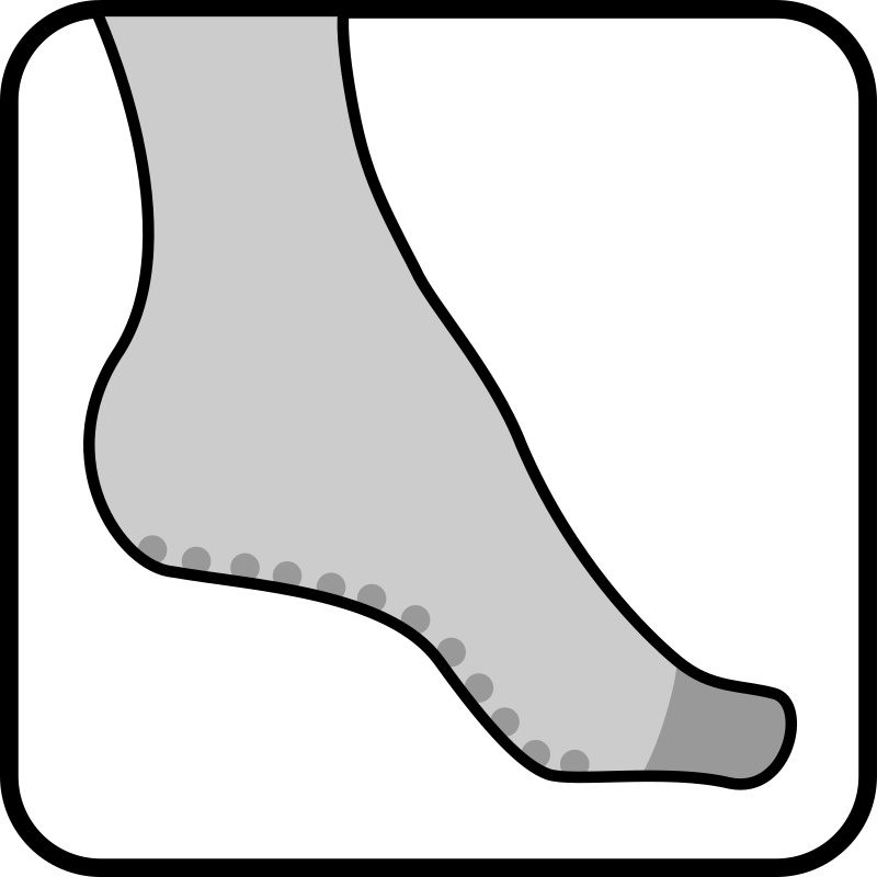 Architetto - pantyhose foot 1 by francesco_rollandin - Drawing by Francesco 'Architetto' Rollandin. From OCAL 0.18 release.