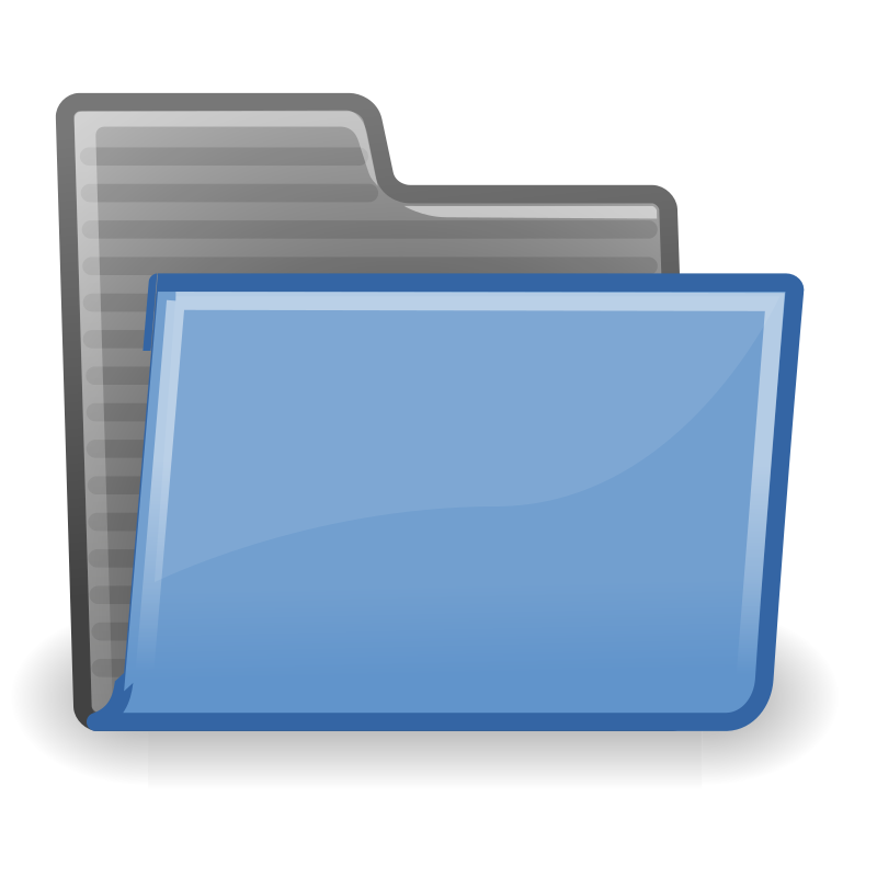 tango folder by warszawianka - An icon from Tango Project. Since version 0.8.90 Tango Project icons are Public Domain.