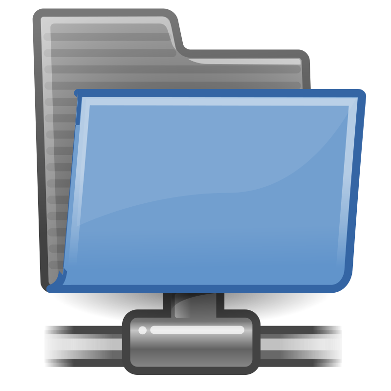 tango folder remote by warszawianka - An icon from Tango Project. Since version 0.8.90 Tango Project icons are Public Domain.