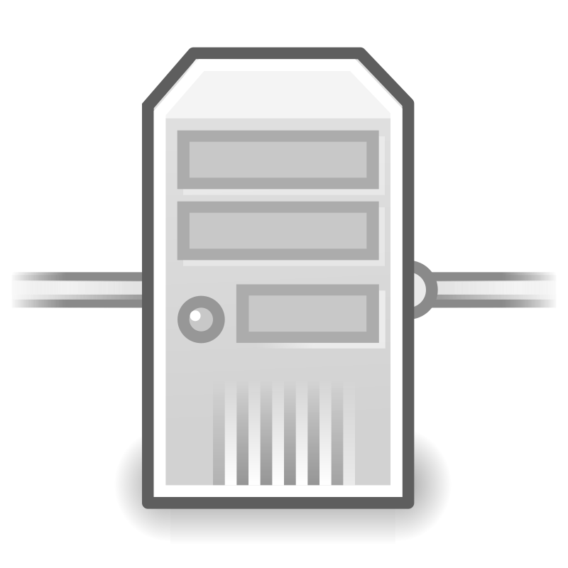 tango network server by warszawianka - An icon from Tango Project. Since version 0.8.90 Tango Project icons are Public Domain.