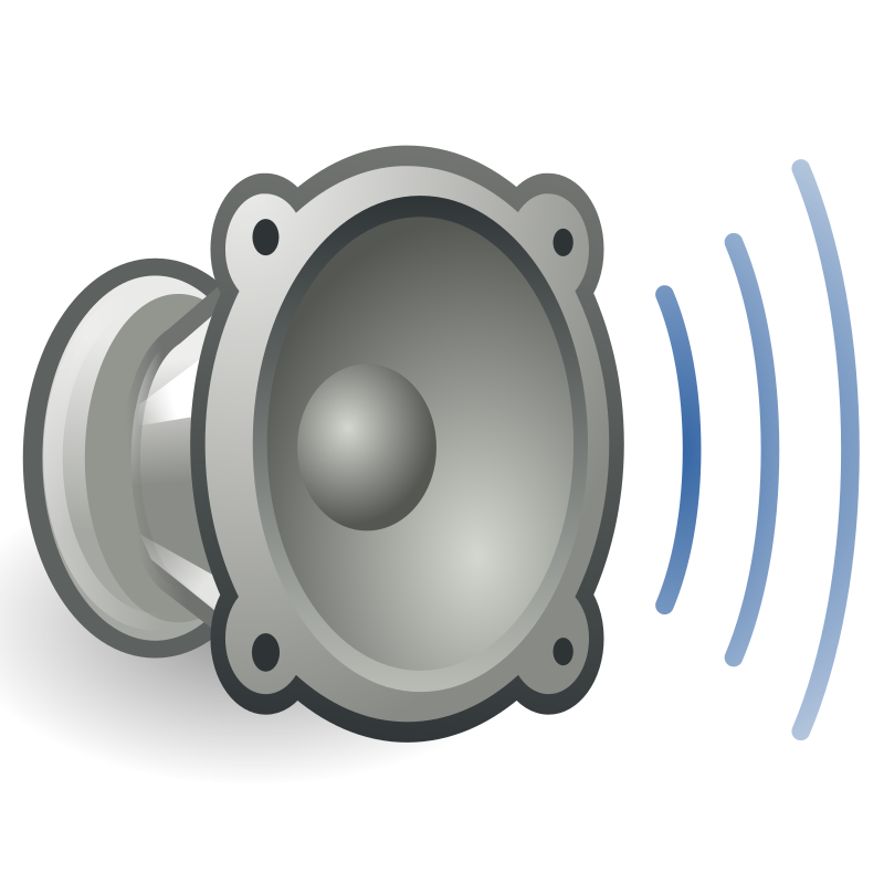 tango audio volume high by warszawianka - An icon from Tango Project. Since version 0.8.90 Tango Project icons are Public Domain.