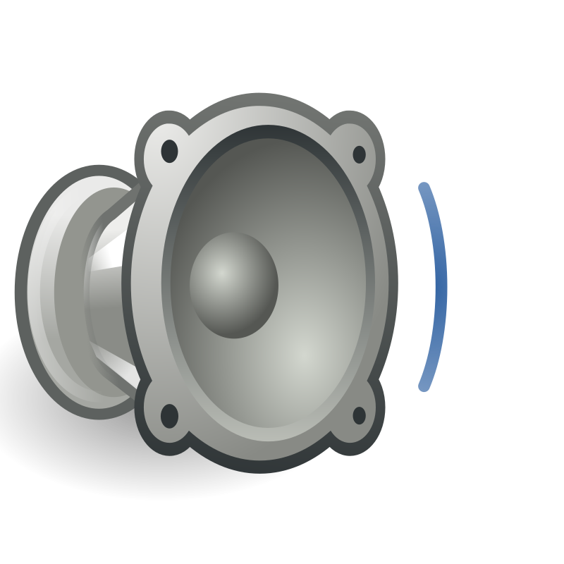tango audio volume low by warszawianka - An icon from Tango Project. Since version 0.8.90 Tango Project icons are Public Domain.