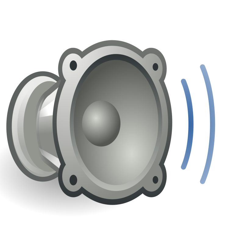 tango volume medium by warszawianka - An icon from Tango Project. Since version 0.8.90 Tango Project icons are Public Domain.