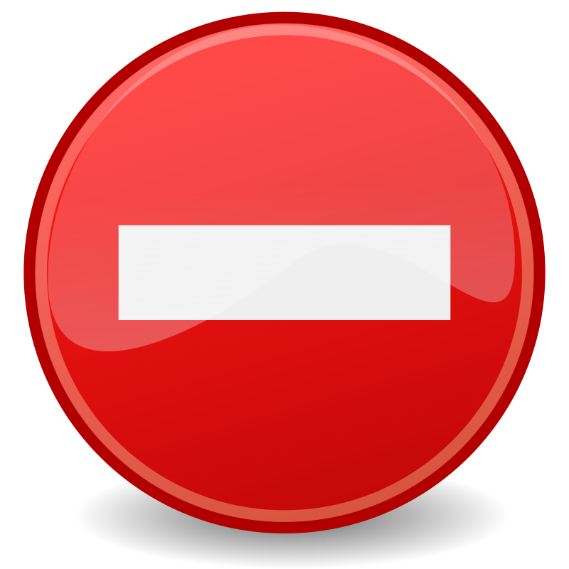 tango dialog error by warszawianka - An icon from Tango Project. Since version 0.8.90 Tango Project icons are Public Domain.