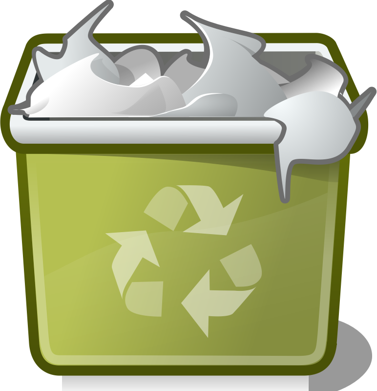 tango user trash full by warszawianka - An icon from Tango Project. Since version 0.8.90 Tango Project icons are Public Domain.