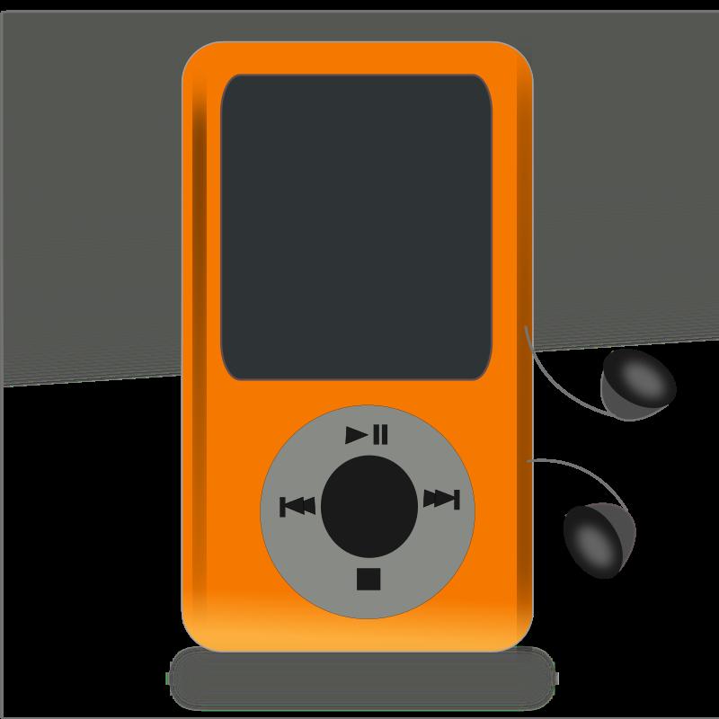 Clipart Netalloy Music Player