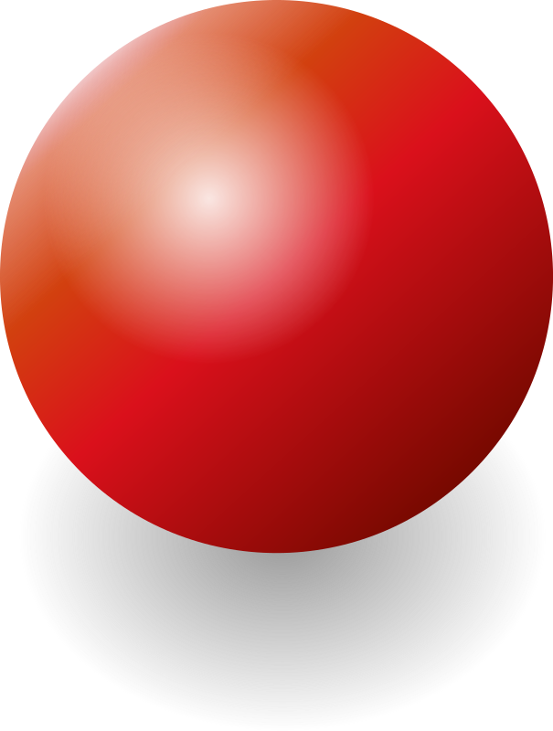 ball by chris_sharkot - a simple red ball with shadow and highlight