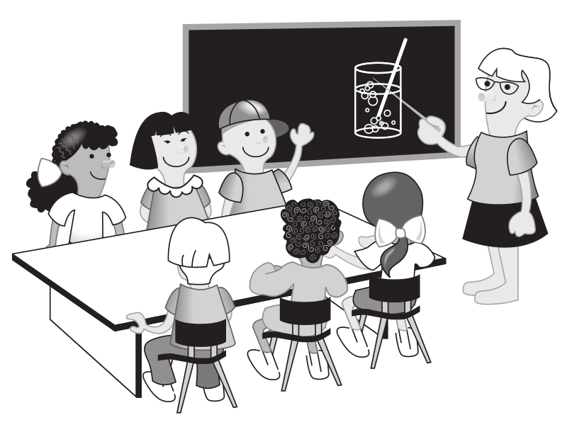 Kids in classroom by rejon