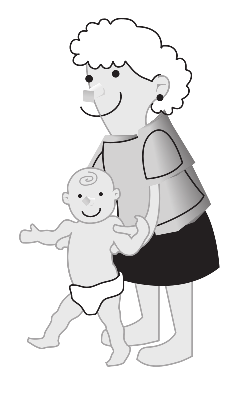 "baby momma by rejon - This is clipart converted and broken apart that has been released into the public domain because the document says so, and its from NASA, a USA government agency. The publication is called ""The Brain in Space:""
