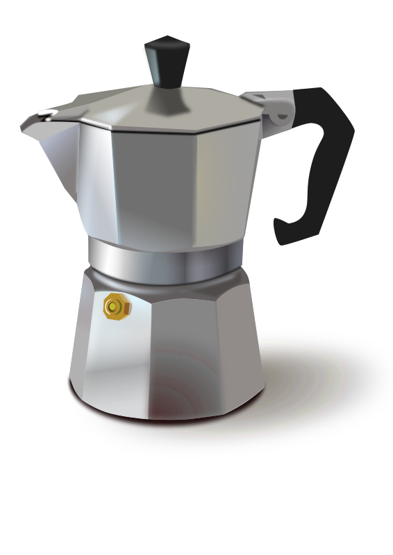 italian coffee maker by pipo - a stove top, Italian style espresso maker.