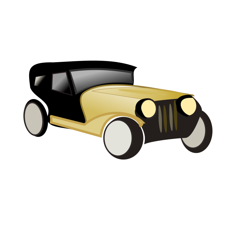 netalloy heritage car by netalloy - automotive clipart from netalloy in public domain