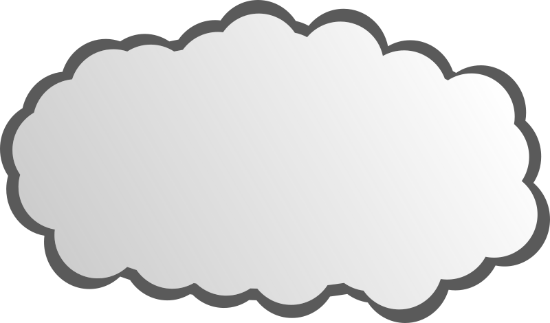 Simple Cloud by noonespillow - a simple cloud.