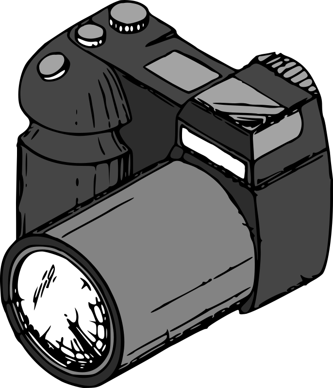 camera by tom - A traced and coloured lineart drawing form US Patent No 6778777