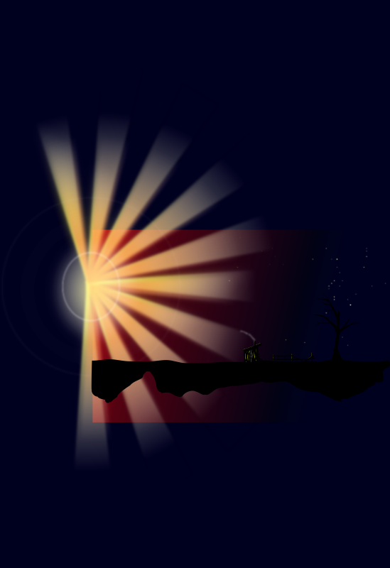Dark sunset by TomK32 - I'm not sure if I should work on some mor details so please tell me your opinions about.