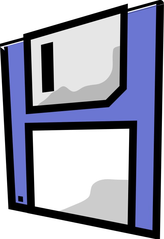 floppy disk by matze73 - Floppy disk icon.