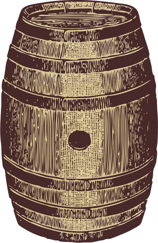 wooden barrel by johnny_automatic